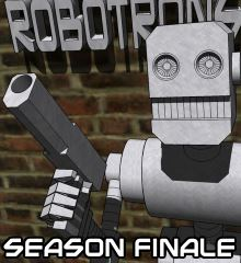 CAPTAIN GOLD AND THE ROBOTRONS - A secret organization battles the Robotrons, machines who can take on the appearance of humans. [SEASON 1 COMPLETE]
