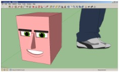 Making 3D Comics Using Google SketchUp