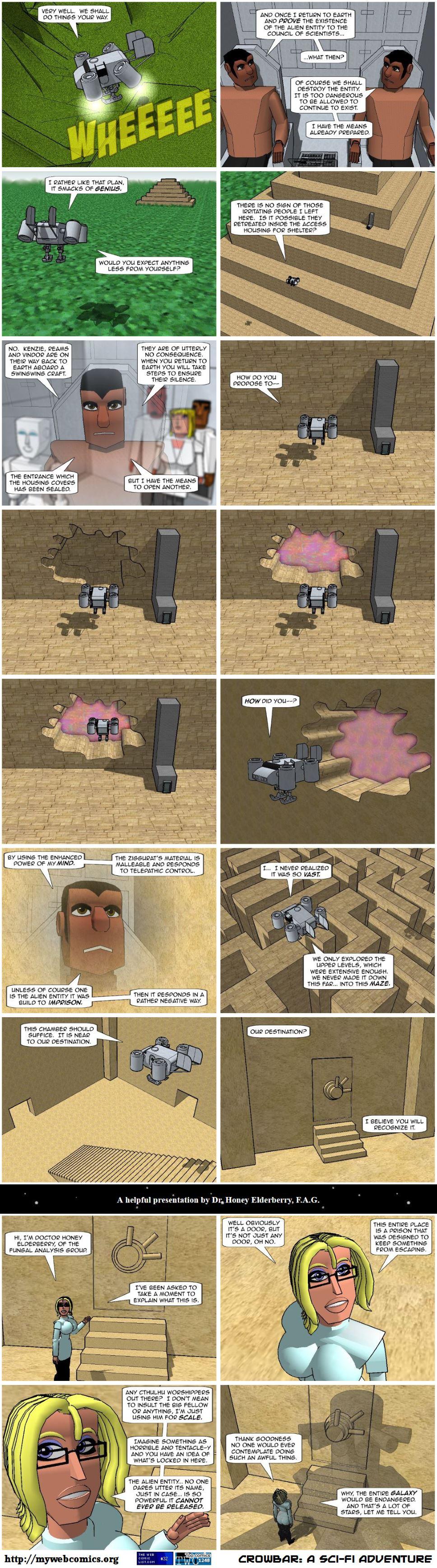 Back to the ziggurat.