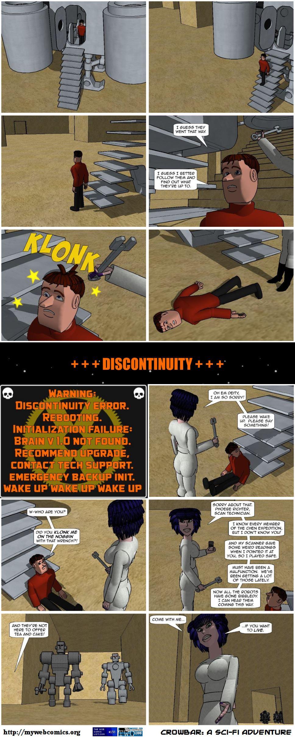 Discontinuity error.