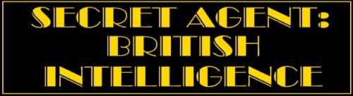 Secret Agent: British Intelligence webcomic by Derek Paterson